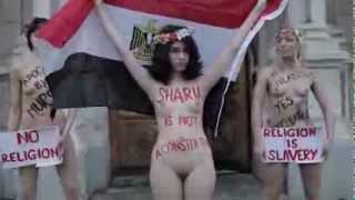 علياء المهدي عاريه احتجاجا على الدستور