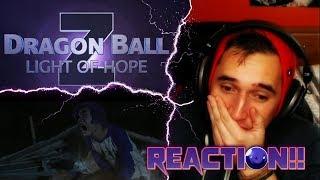 JUST LET GO TRUNKS!!  Dragon ball Z Light Of Hope FAN FILM REACTION!!