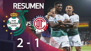 Santos 2-1 Toluca   Final Ida - Clausura 2018