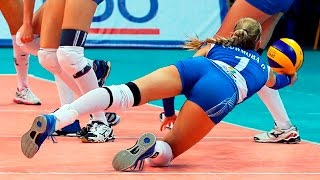 TOP 50 Best Women's Volleyball Digs | The Best Libero In The World | Best Unbeliveble Saves (Digs)