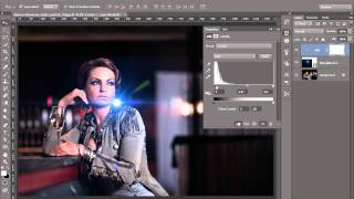 Photoshop : How to add lens flare