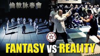 Tai Chi Master vs MMA Madman!!! FANTASY VS REALITY & Blind Faith in Fighting