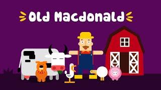 Old MacDonald had a farm - Kid Songs - Happy Kids