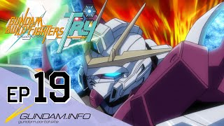GUNDAM BUILD FIGHTERS TRY-Episode 19: Fateful Reunion  (ENG dub)