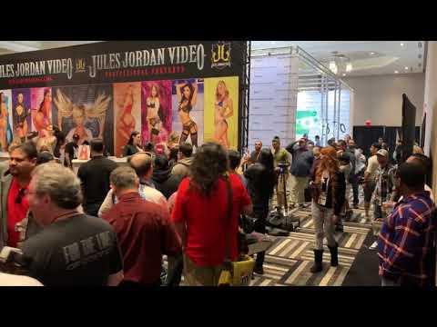 Xxx Mp4 AEE 2019 Day 4 Nicolette Shea Vixen And Brazzers Booth 3gp Sex