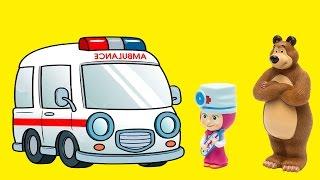 Masza i Niedzwiedz po polsku Masza doktor badania lekarskie