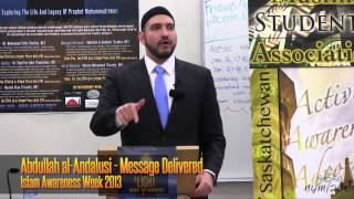 Message Delivered by Abdullah al-Andalusi - IAW 2013