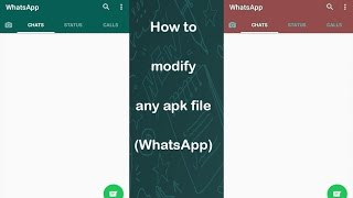 Learn how to modify and get source files of any APK file