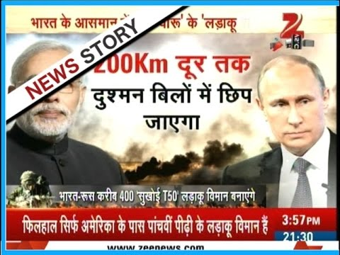 watch India and Russia developing new fighter jets