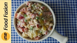 Russian Salad Recipe By Food Fusion