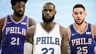 76ers GM Resigns! 76ers Want LeBron James!
