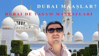 Dubai de maaşlar ne kadar. Dünyanın en büyük 3. camisi. Dubai de yaşam nasıl. Abu Dhabi geziyoruz
