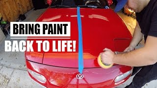 HOW TO BRING 90'S PAINT BACK TO LIFE