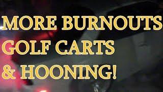 MORE BURNOUTS/GOLF CARTS/HOONING @ Drift Atlanta 2018!! (2)