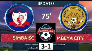 Magoli yote Simba Vs Mbeya city 3:1 (okwi) Full HD Highlights