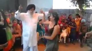 Punjabi Wedding Girl Nd Bapu Dance Punjab