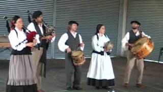 Jota de Santiago de Miraz - Os Azoughados de Churío (Festas do San Pedro de Feás - Aranga)