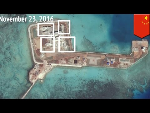 watch South China Sea dispute: China militarizes all seven outposts in the Spratly Islands - TomoNews