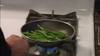 How to Cook Vegetables : Final Cooking for Healthy Green Beans Recipe