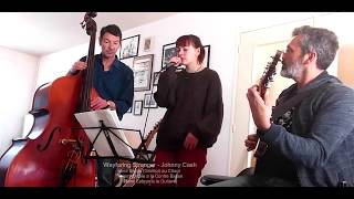 Johnny Cash - Wayfaring Stranger (Ana Bazile, Thierry Bazile, Reno Lebrun cover)