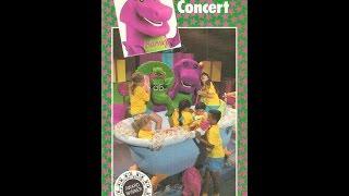 Barney & The Backyard Gang: Barney In Concert Cassette