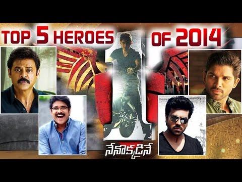 Top 5 Actors of 2014 | Viewers Choice | Telugu Film Nagar Awards