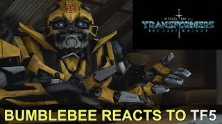 [SFM] Bumblebee Reacts to Transformers: The Last Knight Trailer