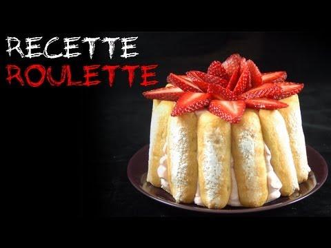 Recette The charlotte aux fraises