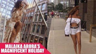 #BTownBagPackers: Malaika Arora takes New York by Storm