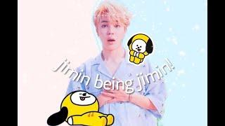 jimin being jimin (an angel)