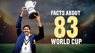 Facts about India Vs West Indies 1983 World Cup Match