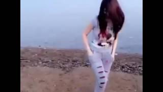 رقص بنت على دبكة تجننن