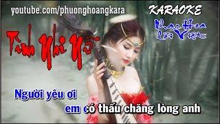 KARAOKE     NỮ NHI TÌNH    Nhạc Hoa lời Việt Phượng Hoàng kara