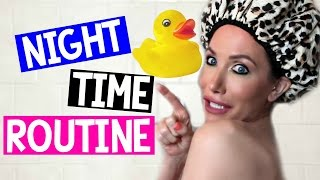 NIGHT TIME ROUTINE | CHANNON ROSE