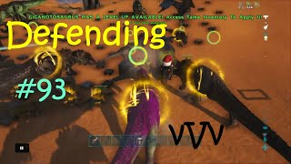 Last Stand On 93   EVBH Wiping vVv   Ark Official PvP