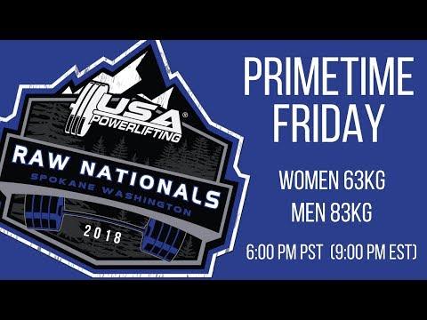 Xxx Mp4 Primetime Friday 2018 USA Powerlifting Raw Nationals 3gp Sex