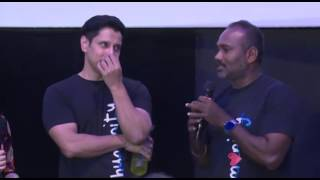 I don't think vikram have detailed concept but he excelled, vijay milton about Spirit of Chennai