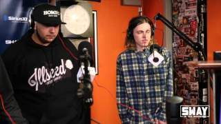 Friday Fire Cypher: From Australia to NYC, Allday Rips His Freestyle on Sway in the Morning
