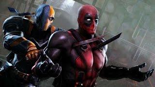 Deathstroke vs Deadpool Trailer EPIC BATTLE (FanMade)