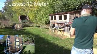 Jaguar Recurve Armbrust 175 lbs Camo Schusstest Outdoor Test (Teil 2) Deutsch / German