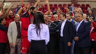 تتويج رجال كرة السلة ببطولة كأس مصر