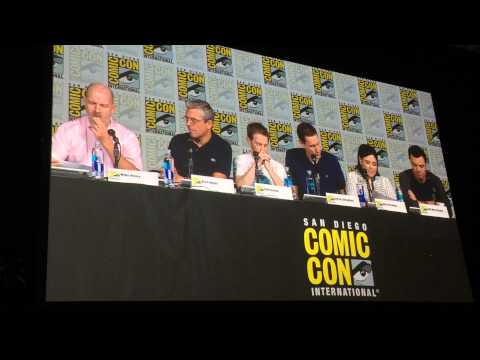 Family Guy table reading at Comic Con 2015