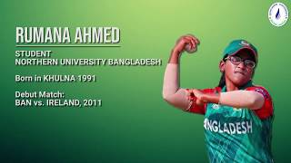 Northern Family is proud of NUB Student Rumana Ahmed