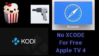 Get popcorn time safari and Kodi on Apple TV 4 ( no Xcode) cydia impactor