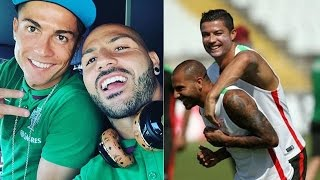 Cristiano Ronaldo & Ricardo Quaresma ● Funny Moments Together ● Best Friends 2016