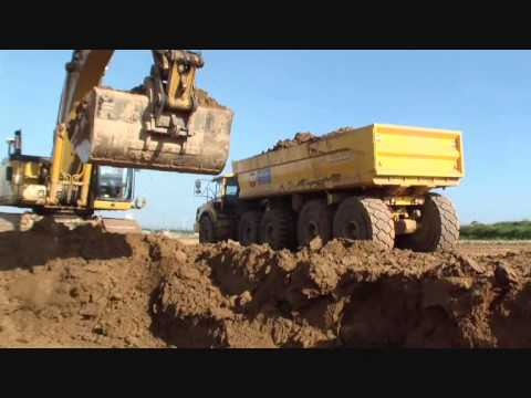 Volvo A30F with BECO MAXXIM 600 trailer payload 60T 2