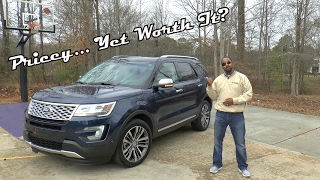2017 Ford Explorer Platinum 4WD Review - Pricey... Yet Worth It?