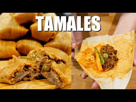 How to make Tamales THE BEST Authentic Homemade Step by Step Tamales
