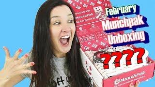 Munchpak Subscription Box Taste Test February