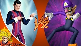 We Are Number One But It's ROBBIE ROTTEN vs WALUIGI! Cartoon Fight Club Episode 134 REACTION!!!